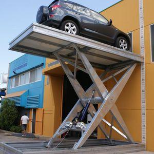 piattaforma di parcheggio idraulica