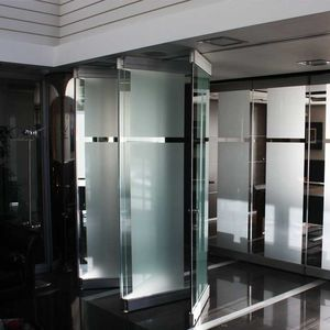 parete pieghevole / in alluminio / in vetro / ad uso professionale