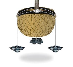 ancoraggio per zolla tramite cavo