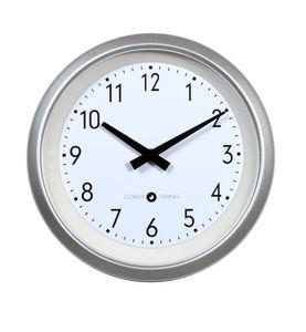 orologi moderni / analogici / a muro / in alluminio