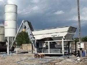 centrale di betonaggio fissa / automatica / autonoma