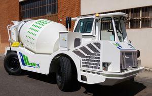 camion betoniera diesel / per cemento / per miniera sotterranea