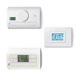 termostato programmabile / digitale / a muro / da incasso a muro