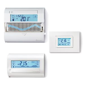 termostato programmabile / a muro / da incasso a muro / per riscaldamento