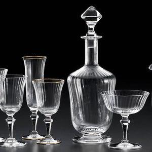 decanter in vetro soffiato / per ristorante gourmet