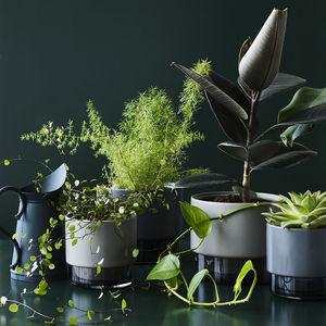 vaso da giardino in ceramica