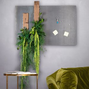 quadro vegetale stabilizzato / da interno / con telaio in metallo