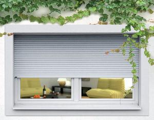 persiane avvolgibili / in alluminio estruso / per finestre / di sicurezza