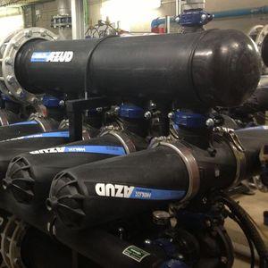 filtro per impianto di recupero dell'acqua