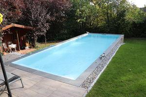 piscina monoblocco / interrata / in composito / per hotel