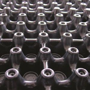 membrana drenante in plastica