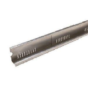 profilo in alluminio perforato