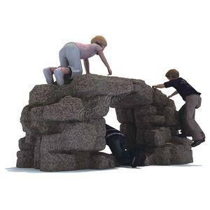roccia da arrampicata per parco giochi