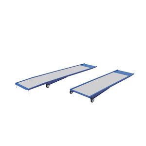 rampa d'accesso in metallo / per superamento soglia / portatile