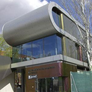 pannello in composito di rivestimento / in alluminio / per rivestimento di facciata / per tetto