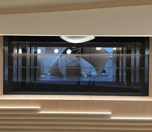 parete fissa / vetrata / in alluminio / da ufficio