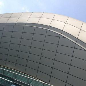 pannello di rivestimento / in alluminio / per tetto / per rivestimento di facciata