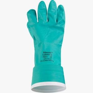 guanto di protezione chimica / antistatico / in tessuto / impermeabile