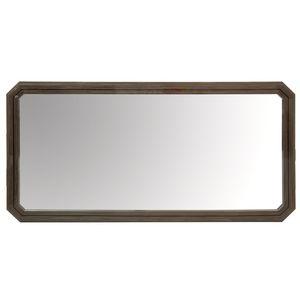 specchio a muro / moderno / rettangolare / impiallacciato in legno