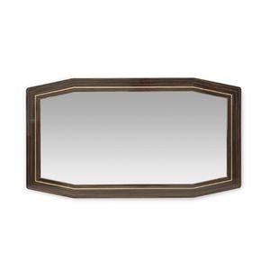 specchio a muro / moderno / impiallacciato in legno