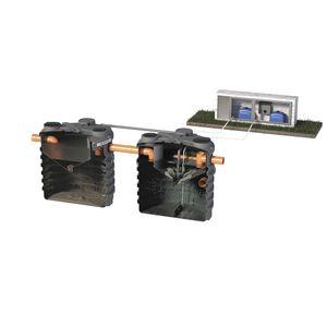 micro impianto di depurazione di fanghi / in polietilene