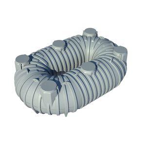 cisterna flessibile / di stoccaggio dell'acqua / in plastica