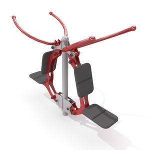 attrezzo per bodybuilding trazione al pulley