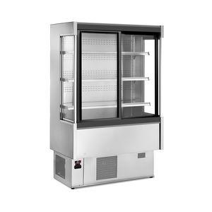 vetrina refrigerata con scaffali