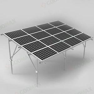 sistema di montaggio per parcheggio / integrato all'edificio / per applicazioni fotovoltaiche