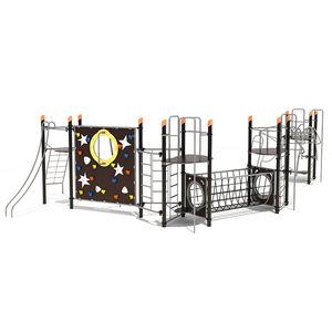 area fitness per esterni per parco giochi