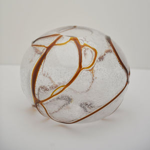 ciotola in vetro soffiato