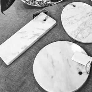tagliere in marmo di Carrara