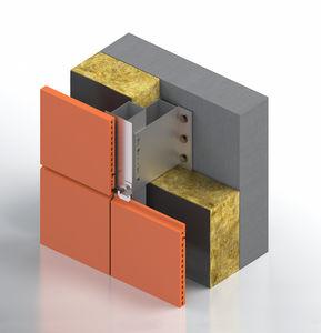 facciata ventilata in acciaio inox