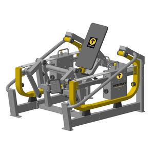 attrezzo per bodybuilding estensione delle gambe