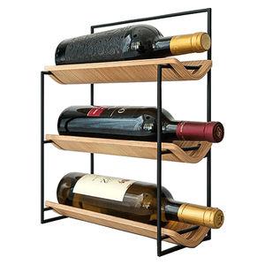 scaffali per bottiglie di vino