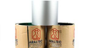 lamiera in alluminio / per tetti / per grondaie / colorata
