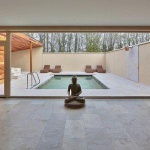 piastrella da interno / da pavimento / da parete / in pietra calcarea