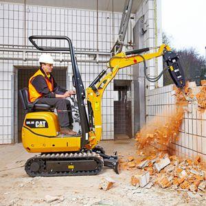 escavatore mini / cingolato / per demolizione / per cantiere