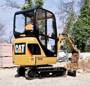 escavatore mini / cingolato / compatto / per demolizione
