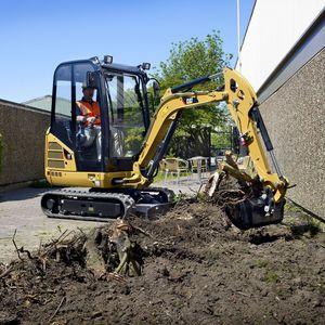 escavatore mini / cingolato / per cantiere / diesel