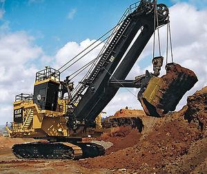 escavatore cingolato / a cavo / per cantiere / elettrico