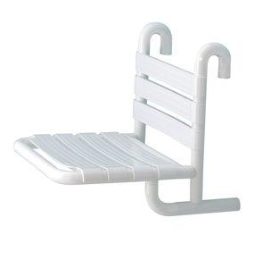 sedile per doccia fisso / sospeso / in alluminio / contract