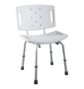 sgabello da doccia in plastica / in alluminio / per struttura sanitaria / per disabili