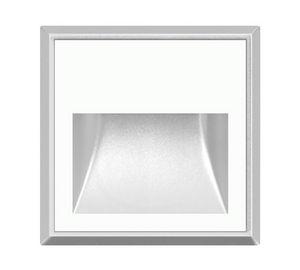 luce da incasso a muro / LED / quadrata / IP65