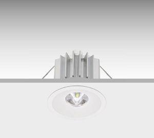 illuminazione di emergenza da incasso a soffitto