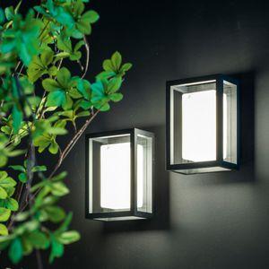 luce sporgente / LED / rettangolare / da esterno