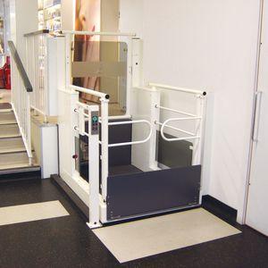piattaforma elevatrice per disabile / ad uso professionale / da esterno / automatizzata