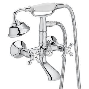 miscelatore doppio comando da doccia