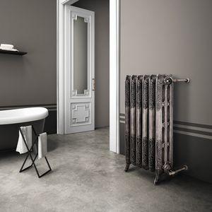 radiatore ad acqua calda / in ghisa / classico / da bagno