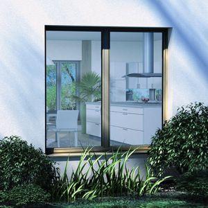 finestra ad anta ribalta / in alluminio / a tripli vetri / a isolamento termico